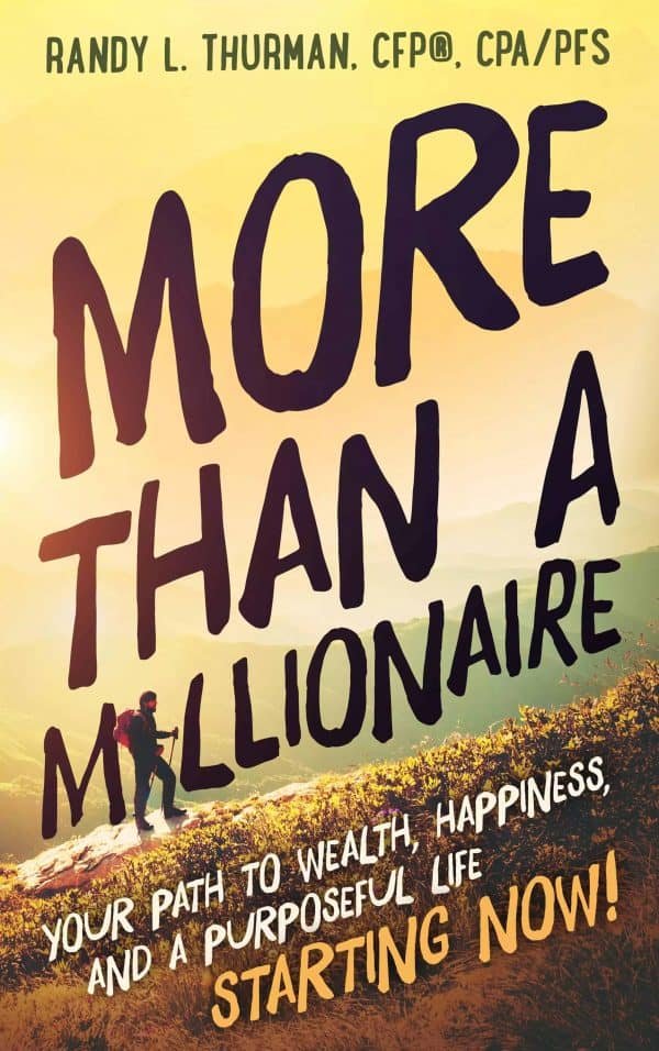 More Than A Millionaire Book Cover
