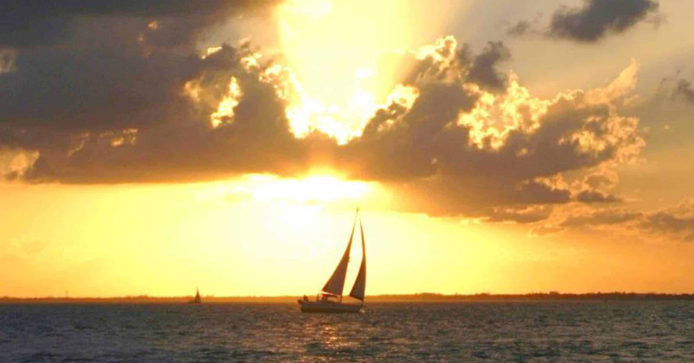 Sailboat image from All Weather Retirement cover