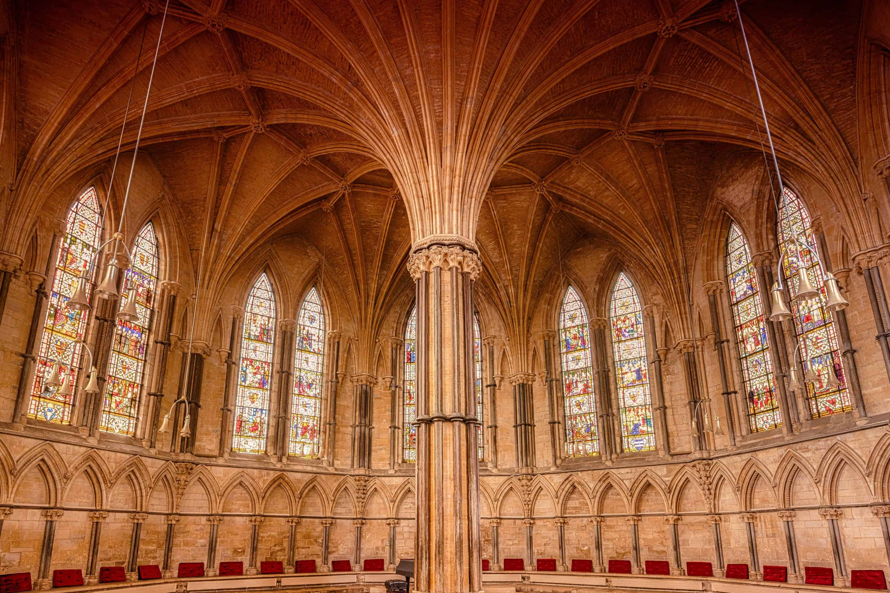Faith is Critical - Abbey interior image