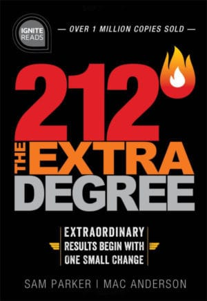 212 The Extra Degree Hardback Book Cover
