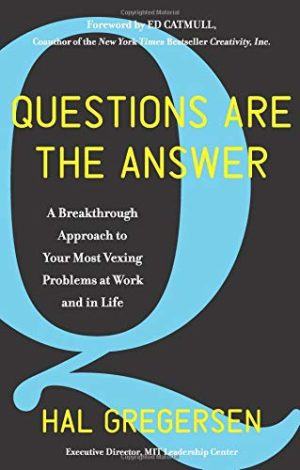 Questions Are The Answer Book Cover